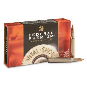 Federal Premium, Vital-Shok, .280 Remington, NP, 150 Grain, 500 Rounds