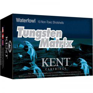 Kent Cartridge Tungsten Matrix Waterfowl 20 Gauge Ammunition 500 Rounds