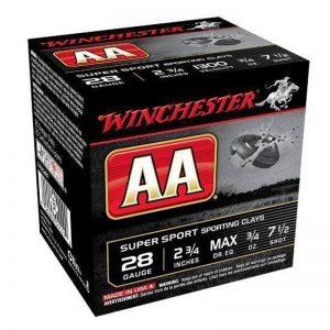 Winchester AA Super Sport 28 Gauge Ammuntion 500 Rounds