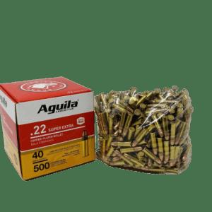 AGUILA 22 LONG RIFLE AMMUNITION 500 Rds