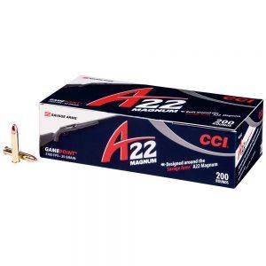 CCI 22 WMR AMMUNITION A22 GAMEPOINT 500 RDS