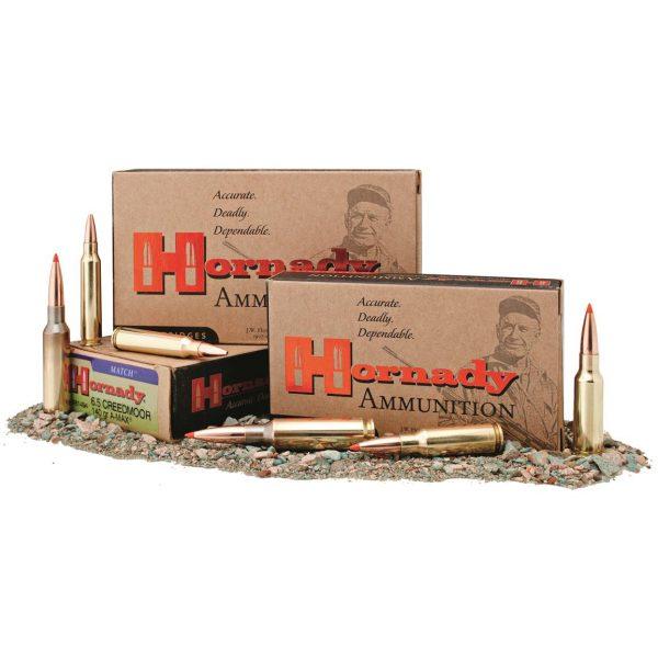 Hornady Match, 6.5mm Creedmoor, ELD Match, 140 Grain, 500 Rounds