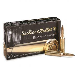Sellier & Bellot, 6.5mm Creedmoor, SP, 140 Grain, 500 Rounds