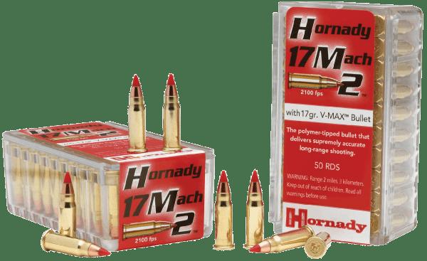 HORNADY H83177 17 MACH 2 HM2 500RDS