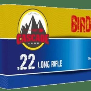 CASCADE AMMO 22 LONG RIFLE AMMUNITION 500 RDS
