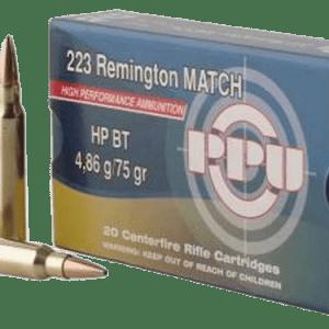 PRVI PPU 223 REM AMMUNITION 500 ROUNDS BRASS CASING 500Rds