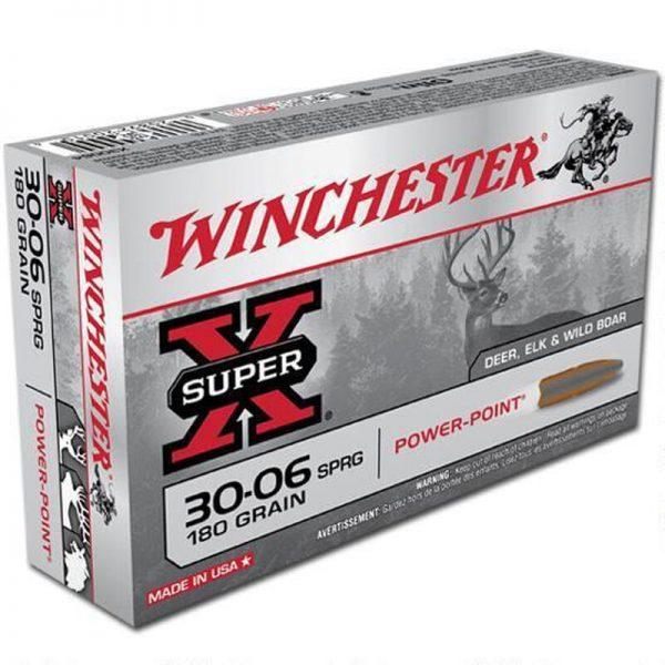 Winchester Super X .30-06 Springfield Ammunition 500 Rounds JSP 180 Grains X30064