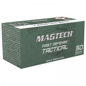 500 Rounds of Magtech First Defense Tactical .308/7.62x51mm Ammunition 50 Rounds, FMJ, 147 Grains
