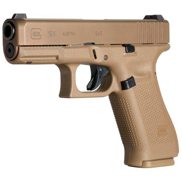 Glock G19X Gen5 NS 9mm Compact 17-side